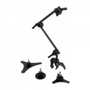 Switch mount Universal mount kit for switches. Includes versatile small Tube clamp, two 10 mm (3/8″) Tubes, QuickShift joints and the three most popular switch mount plates.