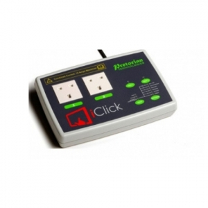iClick allows mains-powered appliances to be controlled wireless via a free app (iClick) or using wired switches.