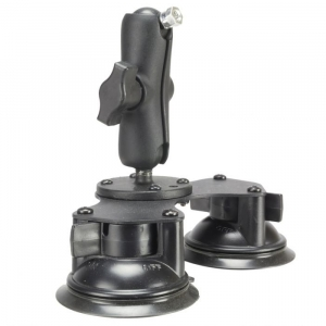 Table Top Suction Mount provides a quick and easy way to mount almost any AbleNet switch or AbleNet small dedicated speech generating device